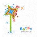 An Autism Awareness Poster