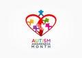 Autism logo design