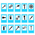 Auto Car Repair Service Icon Symbol Royalty Free Stock Image