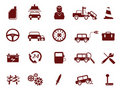 Auto Car Service Icon Royalty Free Stock Photo