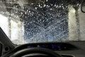 Auto car wash Royalty Free Stock Photo