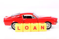 Auto loan Royalty Free Stock Photo