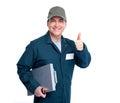 Auto mechanic. Royalty Free Stock Photo