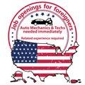 Auto Mechanics and Techs needed