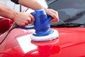 Auto polisher Royalty Free Stock Photo
