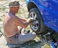 Auto Repair Royalty Free Stock Images