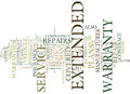Auto Repair Insurance Extended Warranties Myths And Facts Word Cloud Concept Royalty Free Stock Photo