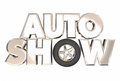 Auto Show New Model Vehicles Cars Display Exhibition