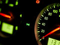 Auto speedometer Royalty Free Stock Photos
