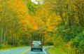 Auto tour of fall foliage