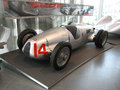 Auto union v type c d the grand prix racing car types exposed in the audi museum in ingolstadt this grand prix car was developed Royalty Free Stock Image