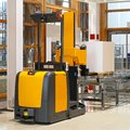 Automated forklift Royalty Free Stock Photography