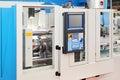 Automated lathe machine Royalty Free Stock Image
