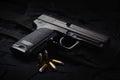 An automatic pistol