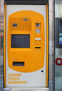 Automatic ticket machine Royalty Free Stock Photo