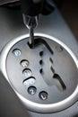 Automatic transmission car Royalty Free Stock Photo