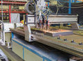 Automatic welding process in the production of Stock Photos