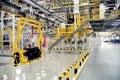 Automobile assembly shop Stock Photo