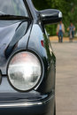 Automobile headlight Stock Images