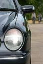 Automobile headlight Stock Images