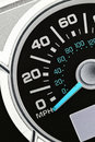 An automobile odometer Stock Images