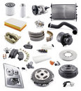 Automobile spare parts Royalty Free Stock Photo