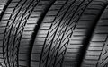 Automobile tires Stock Photos
