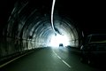 The automobile tunnel Stock Photo