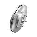 Automotive brake disc photorealistic illustration Royalty Free Stock Images