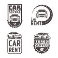 Automotive Car rent repair Logo Template Design Vector