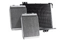 Automotive cooling radiators. Royalty Free Stock Photo