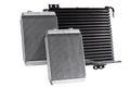 Automotive cooling radiators.