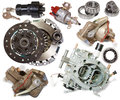 Automotive spare parts Royalty Free Stock Images
