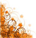 Autumn abstract design Stock Photo