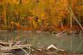 Autumn in Alaska Stock Photography