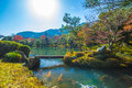 Autumn arashiyama season in kyoto Royalty Free Stock Image