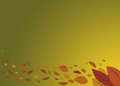 An autumn background with fall leaves Royalty Free Stock Photo