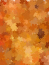 Autumn background with leaves eps and also includes Royalty Free Stock Images
