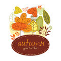 Autumn banner Stock Photos