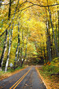 Autumn on Blue Ridge Pakway Royalty Free Stock Photos