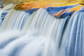 Autumn, Bond Falls Cascade Royalty Free Stock Photo