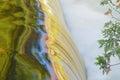 Autumn, Bond Falls Cascade Royalty Free Stock Photo