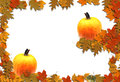 Autumn Border Seasonal Background Royalty Free Stock Image