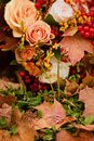Autumn bouquet of the bride Royalty Free Stock Photo