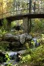 Autumn Bridge Royalty Free Stock Photo