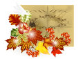 Autumn brochure design Royalty Free Stock Photo