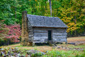 Autumn Cabin Royalty Free Stock Photo