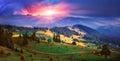 Autumn came to the Carpathian Mountains Royalty Free Stock Photo