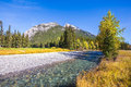 Autumn  in the Canadian Rockies Royalty Free Stock Photo