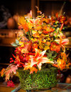 Autumn Centerpiece Royalty Free Stock Photo